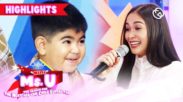 Yorme refuses to sit beside Maja because of his fear of Camila | It's Showtime Mini Miss U