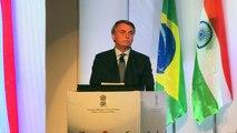 Bolsonaro: Brasil e Índia têm 'muito a realizar juntos'