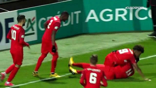 9 buts, un chef-d'oeuvre et un scénario dingue : la qualification folle de Rennes à Angers