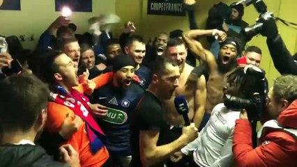 Coupe de France (8e de finale) : Belfort élimine Montpellier, la joie dans le vestiaire