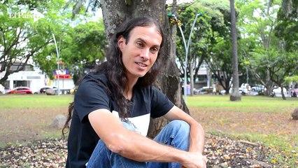 Terry Hurtado, el activista de la 'relajada' pinta en el Concejo de Cali