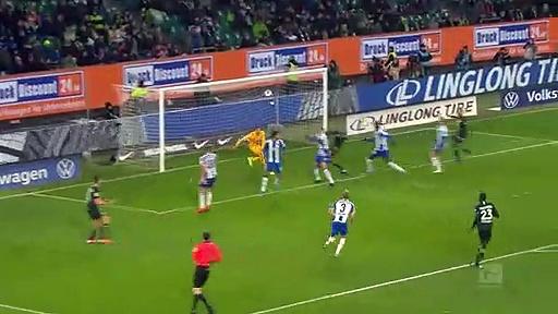 Wolfsburg - Hertha Berlin (1-2) - Maç Özeti - Bundesliga 2019/20