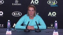 "Open d'Australie 2020 - Anastasia Pavlyuchenkova : ""My attitude and my fighting spirit were important"""