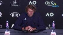 "Open d'Australie 2020 - Alexander Zverev : ""I have no reason not to be confident"""