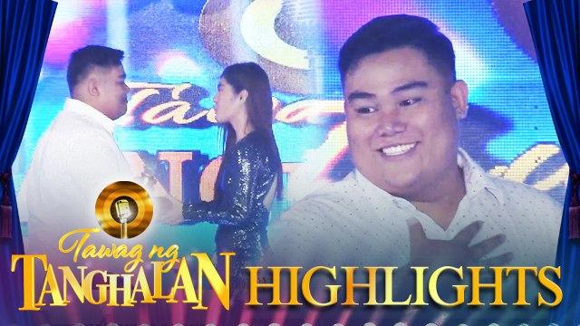 PJ Ramirez steals the golden microphone from Micoline Acedera | Tawag ng Tanghalan