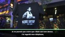 BASKETBALL : NBA - Décès de Kobe Bryant - Les fans lui rendent hommage à Los Angeles