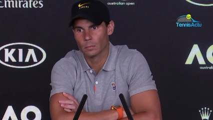"""Open d'Australie 2020 - Rafael Nadal : """"I haven't changed my mind about what I think of Nick Kyrgios"""""""
