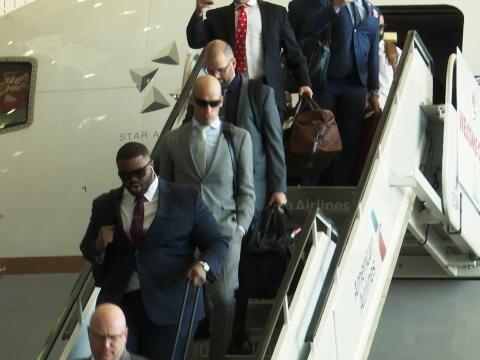 Super Bowl LIV - Les Chiefs sont arrivés à Miami