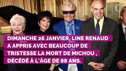 """Mort de Michou : son amie Line Renaud se confie sur ses derniers jours, """"je le trouvais très essoufflé"""""""