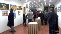 Şizofreni hastalarının tabloları TESK Sanat Galerisi'nde beğeniye sunuldu