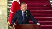 """Cumhurbaşkanı Erdoğan: """"Temennimiz odur ki bir an önce Libya barışa kavuşur"""""""