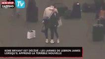 Mort de Kobe Bryant : les larmes de Lebron James quand il apprend la terrible nouvelle (vidéo)