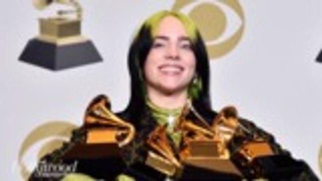 Billie Eilish Wins All 4 Major Categories at 2020 Grammys | THR News