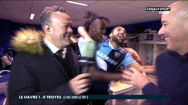 Le Havre / Troyes : La réaction de Paul Le Guen dans le vestiaire havrais