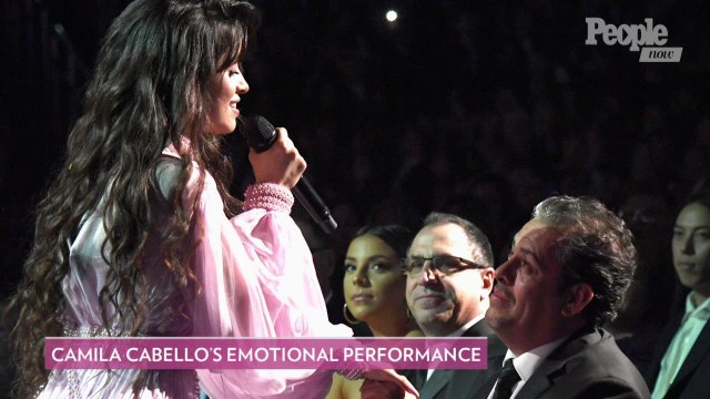 Camila Cabello Brings Her Dad to 2020 Grammys — and Performs an Emotional Song Dedicated to Him