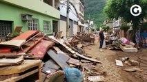 Repórter Vilmara Fernandes mostra a situação nos bairros Independência e Garagem, em Castelo