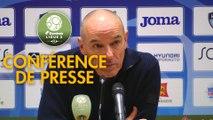 Conférence de presse Havre AC - ESTAC Troyes (1-0) : Paul LE GUEN (HAC) - Laurent BATLLES (ESTAC) - 2019/2020