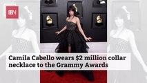 Camila Cabello's Extremely Expensive Grammy Necklace