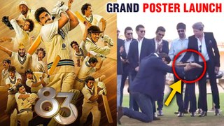 Ranveer Singh Along With Kapil Dev GRAND Poster Launch In Chennai | 83