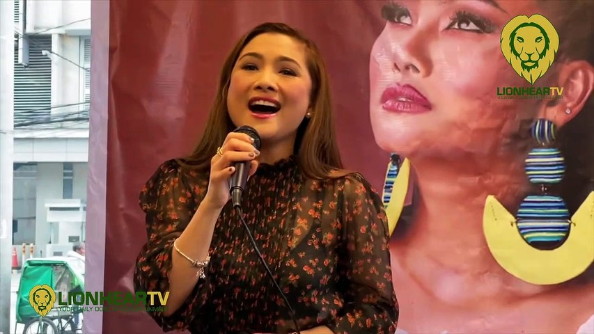 Sheryn Regis sings 'Hindi Ko Kayang Iwan Ka' (acapella), 'This is Me' (cover)