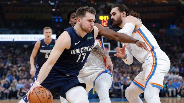 NBA : Dallas et Doncic matent le Thunder