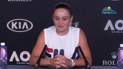 """Open d'Australie 2020 - Ashleigh Barty : """"Sofia Kenin is an exceptional competitor"""""""