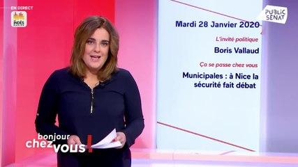 Boris Vallaud - Public Sénat mardi 28 janvier 2020