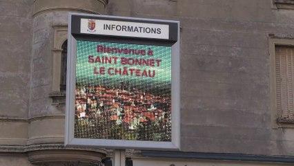 Retraites : Une Manif à Saint-Bonnet-le-Château