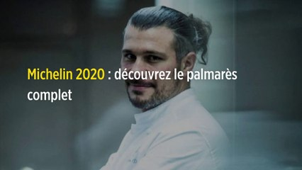 Michelin 2020 : découvrez le palmarès complet