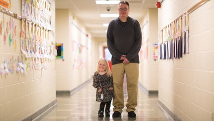 """The Tiny Teacher Who's Only 3ft 3"""" 