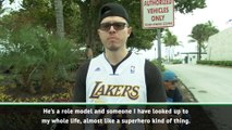 A 'role model' and 'superhero' - Lakers fans in Miami hail Kobe