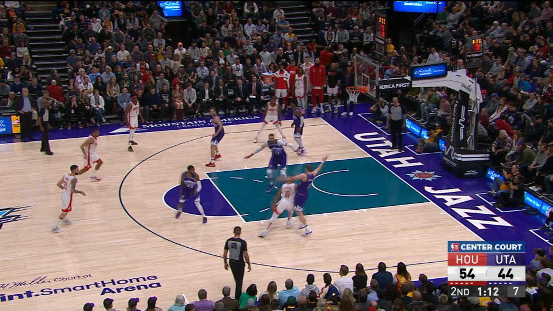 Injury-hit Rockets stun Jazz