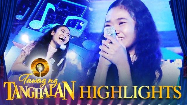 Cherry Lyn Pausal steals the golden microphone from PJ Ramirez | Tawag ng Tanghalan