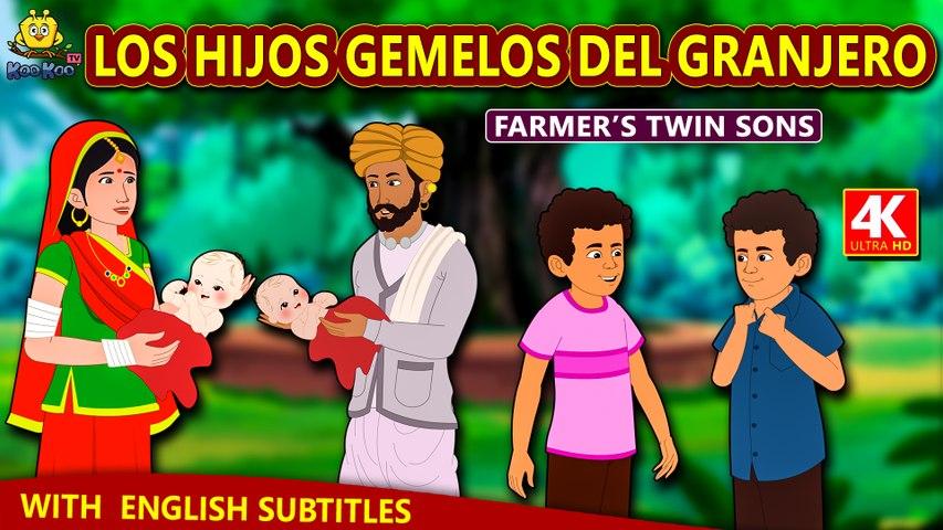 Los Hijos Gemelos Del Granjero | Cuentos de dormir para niños | Historias Españolas Para Niños