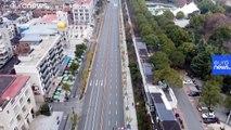 Coronavirus : vol au-dessus de Wuhan, ville fantôme