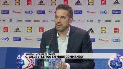 Handball - Guillaume Gille, nouveau sélectionneur de l'Équipe de France