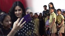 Katrina Kaif's CUTE moment with children at short movie Picture Pathshala screening | FilmiBeat