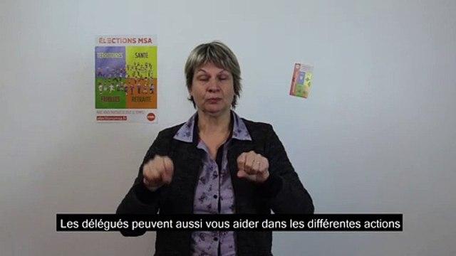 Elections MSA 2020 : la FGA-CFDT appelle au vote en langue des signes