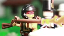 Lego Battle of New Orleans -  stopmotion