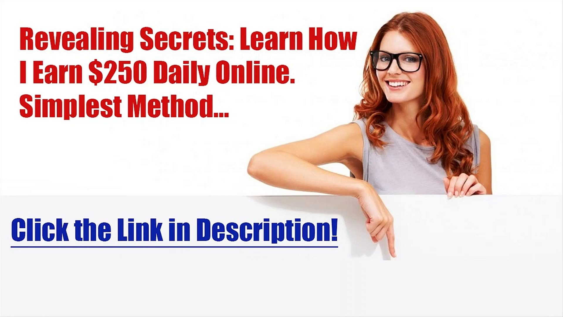 Make Money Online for FREE! Super Method of Extra Income