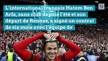 Hatem Ben Arfa, sans club depuis son départ de Rennes, a signé un contrat de six mois avec Valladolid.