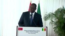Senegal-Türkiye İş Forumu - Senegal Cumhurbaşkanı Macky Sall - DAKAR