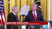 Middle East peace plan: Trump unveils 'deal of the century'