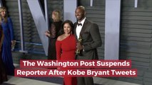 A Washington Post Reporter Tweets About Kobe Bryant
