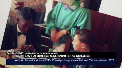 Kobe Bryant, une jeunesse Italienne et Française - DailySport