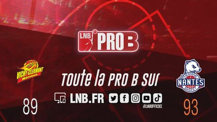 PRO B : Vichy-Clermont vs Nantes (J17)