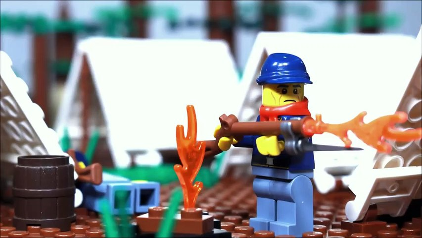 Lego Battle of Shiloh - American Civil War stop motion