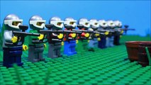 Lego Paintball Battle
