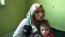 3 çocuğuyla inşaat halindeki evde yaşam mücadelesi veren kadının dramı y