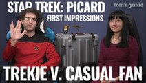 Star Trek Picard First Impressions | A Trekkie v. Casual Fan